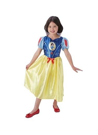 Sunman Sunman Oyuncak Dünyası Renkli Kız Çocuk Pamuk Prenses Kostümü Renkli